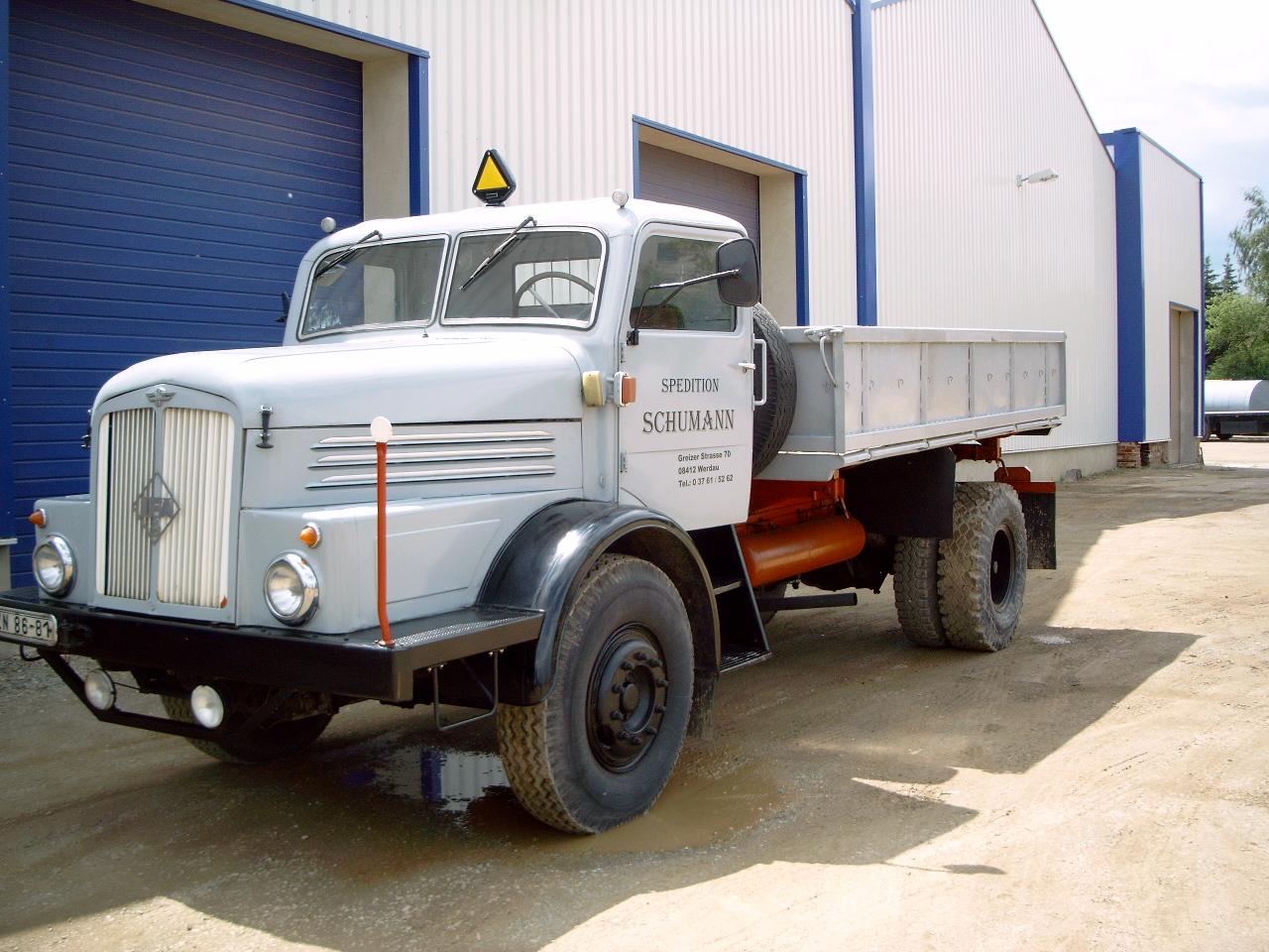 IFA H6 Kipper Bj. 1959